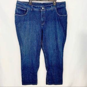Lee Rider Blue Denim Jeans Size 24W